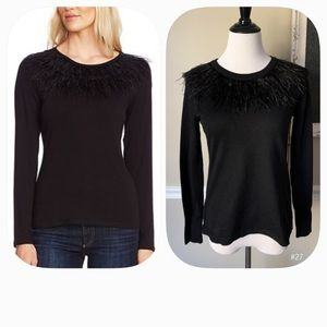 Vince Camuto•Feather Blouse